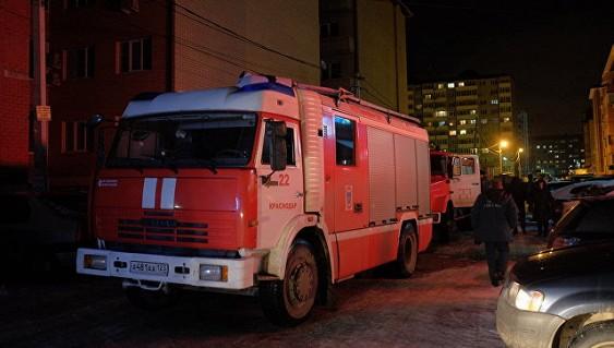 Крупный пожар в жилом доме в Краснодаре локализован