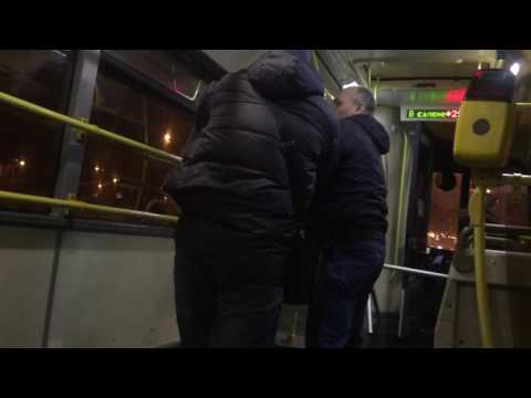 Еще один ночной автобус. На сей раз — авторский