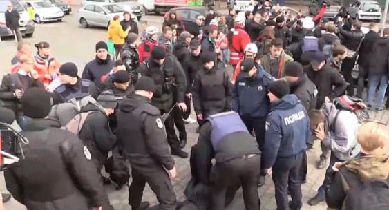 На феминистском марше в Киеве произошли задержания