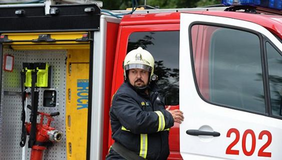 На химзаводе в Тольятти произошел пожар