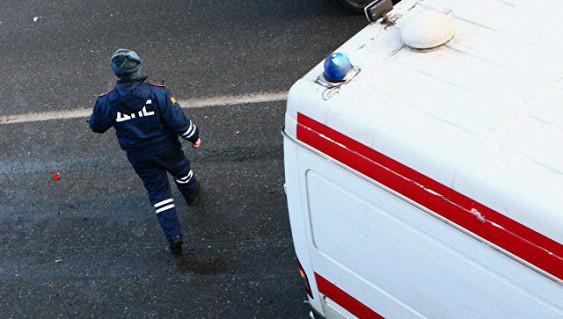 Автобус с пассажирами перевернулся в Ленобласти