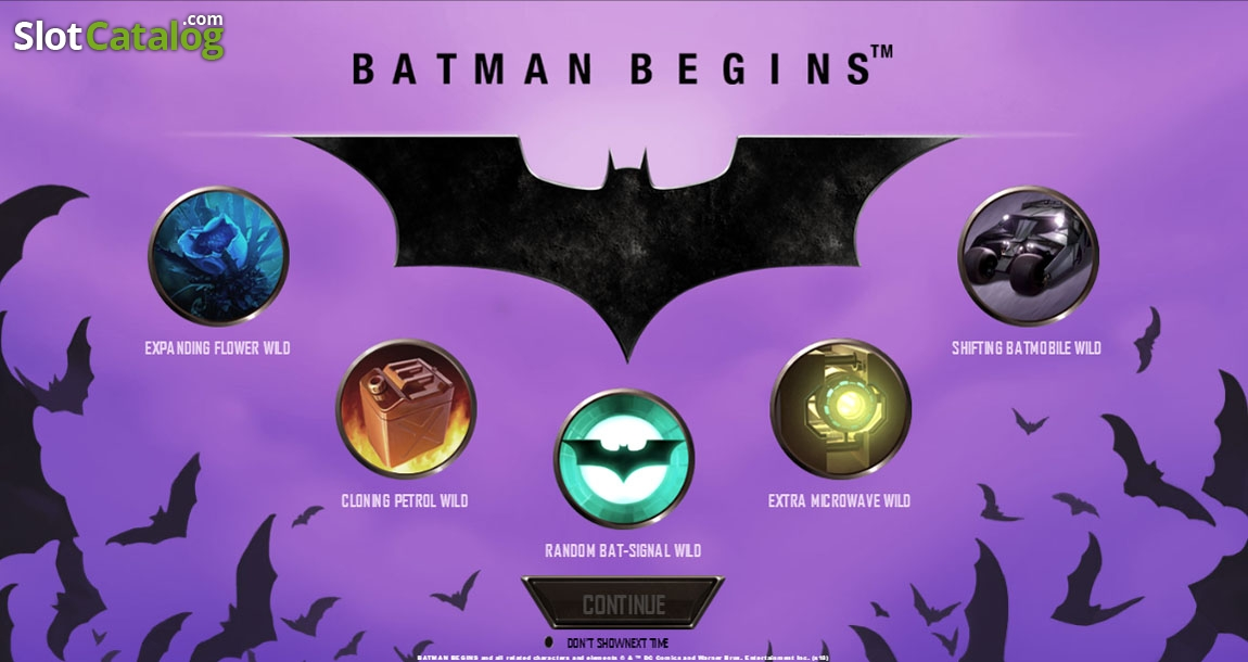 слот «Бэтмен»