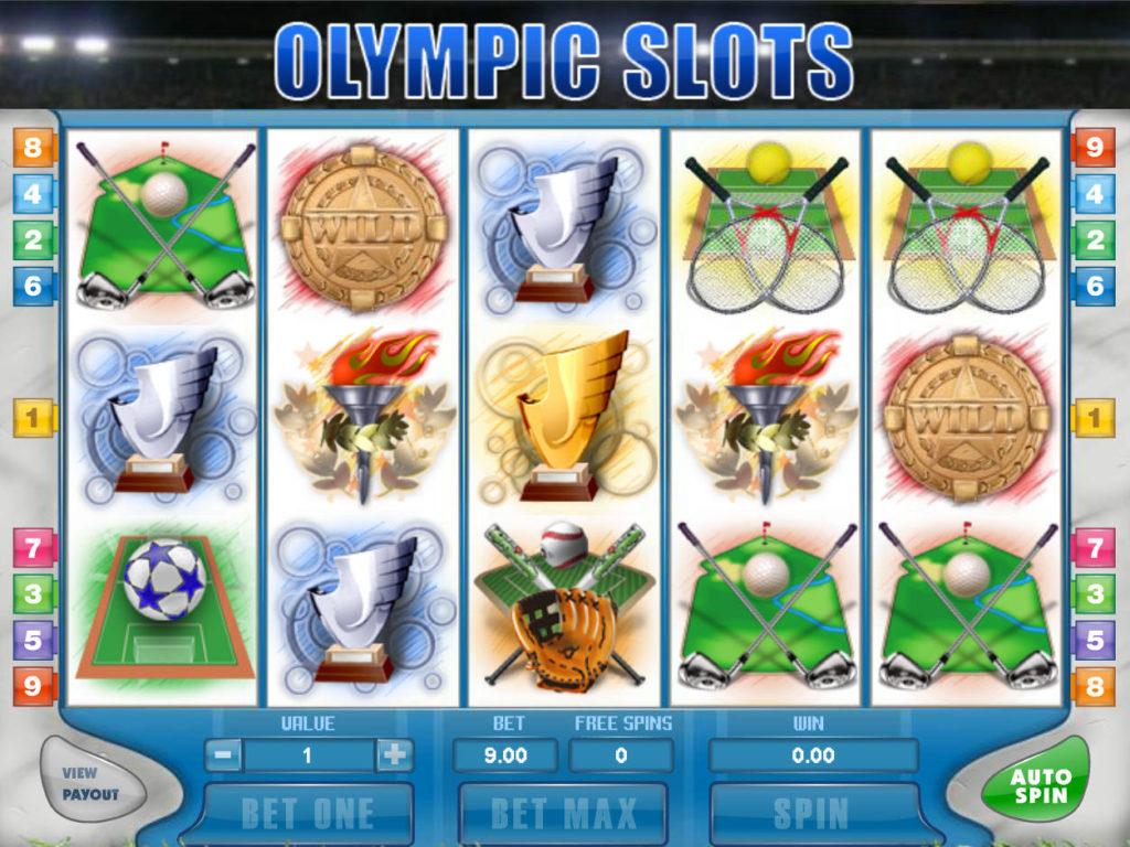 игрового автомата Olympic Games
